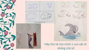 Cách vẽ con vật bằng số