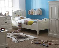 Louis Bedroom Furniture French Louis Elegant Ivory Painted Pine Childrens 3ft Single Bed
