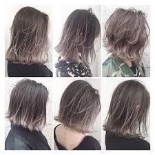 流行りのハイライトカラーでいつものヘアに自分らしさをプラス 髪型
