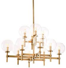 Casa Padrino Luxury Chandelier Antique Brass 80 X 80 X H 60