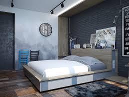 Bedroom Designs: Monochromatic Bedroom With Artwork - Bedroom