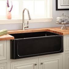 Black Apron Front Kitchen Sink Black Farmhouse Kitchen Sink 23213620170511 Ponyiexnet