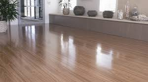 Timber Impressions spotted gum laminate flooring.