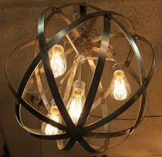 edison bulb chandelier dining rooms