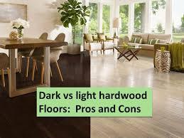 dark vs light hardwood pros and cons