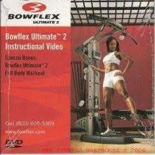 Bowflex Ultimate Exercise Wall Chart Bowflex Ultimate 2 Instructional Dvd Workout Bowflex