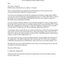 Letter Accepting Resignation With Immediate Effect Archives