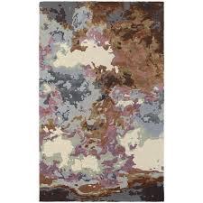 oriental weavers galaxy 21905 blue brown area rug
