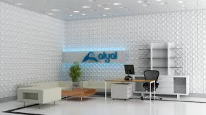 alyal office wall design