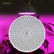Đèn LED E27 hỗ trợ quang hợp cho cây trồng trong nhà