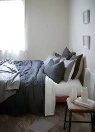 100 linen duvet cover in anthracite charcoal by gorgi larger imagemove mouse over the image to magnify
