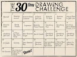 Wonderful The 30 Day Drawing Challenge… Idea HD 2017 2018