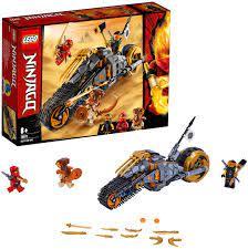 LEGO 70672 NINJAGO Coles Offroad-Bike Ninja Motorrad mit Raupenbändern und  3 Minifiguren, Abenteuerspielzeug für Kinder - Region.Shop Marktplatz