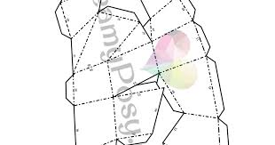 Half Heart Template How To Make Paper 3d Heart Frame Free Template And Tutorial