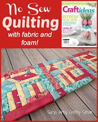 No Sew Quilting with Fabric and Foam! & no sew quilting with fabric and foam Adamdwight.com