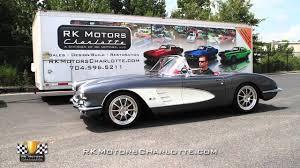 133123 1959 Chevrolet Corvette Idle and Revs - YouTube