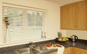 Roman Blinds For Kitchens Roller Blind In A Kitchen Surrey Blinds Shutters