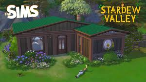 Leah's Cottage // Stop Motion (Sims 4 + Stardew Valley) - YouTube