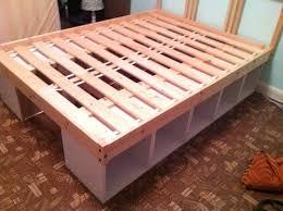Diy Storage Beds Fair For Your Inspiration Interior Home Design