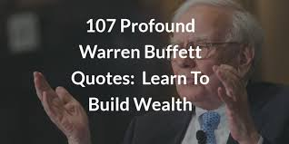 Quote On Quote Classy 48 Best Warren Buffett Quotes On Life Wealth Investing Sure