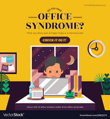 Office Banner Template Office Syndrome Banner Template