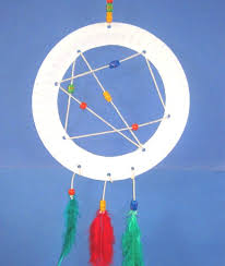 Dream Catcher Party Plates Simple Paper Plate Crafts For KidsRaising Sparks