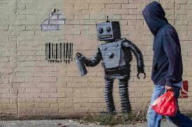 Genius or jerk? Debate over Banksy's month of art in NYC - The Boston Globe