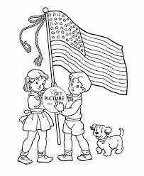 American Flag Coloring Page For Kids Coloring Pages Printables Free