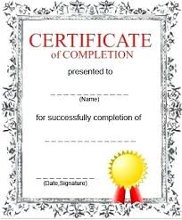 blank certificates blank certificate templates free download printable template