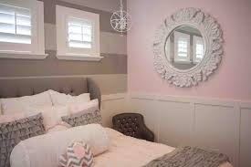 Pink Bedrooms Girls Grey And Pink Bedroom