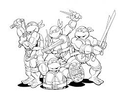 Coloring Pages Coloring Pages Nickelodeon Ninja Turtles Desenhos