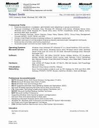 Sample Resume For Experienced Windows Server Administrator Refrence
