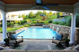 open pool house. Open Pool House. Perfect Swimming With Fountains Spa And Air House Cabana