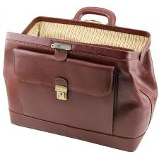 tuscany leather doctor bag made in italy