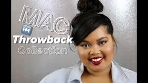 <b>MAC Throwback</b> Collection Review + Swatches + Demo - YouTube