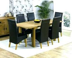 6 chair dining set extending dining table 6 chair dining set table and 6 chairs