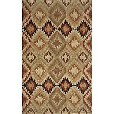 momeni veranda black southwest tile indoor outdoor rug 2 x