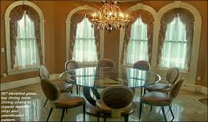60 inch round glass top dining table. fine table 60 inch round glass top dining table 2157  and n