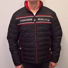 Racing Quilted Coats & Jackets for Men | eBay & Official 2017 Honda Racing BSB Lightweight Quilted Down Jacket Adamdwight.com