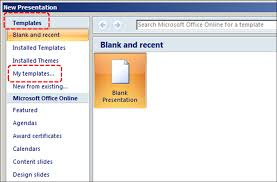 Design For Powerpoint 2007 Authoring Techniques For Accessible Office Documents Powerpoint