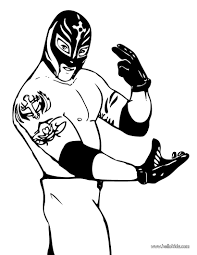 Small Picture Rey mysterio coloring pages Hellokidscom