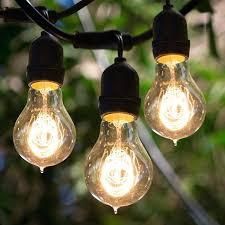 outdoor edison light strings