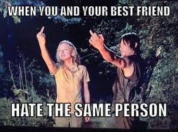 The Same Haters When you and your best friend hate... via Relatably.com