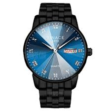 TINACE Men <b>Luxury</b> New Design <b>Creative Glass</b> Crystal Dress Watch