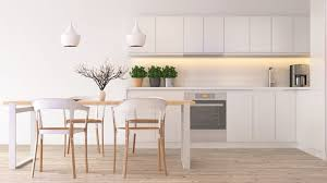 types of kitchen lighting. Pendant And Recessed Lighting In A Scandinavian Style Kitchen Types Of N