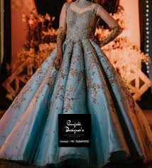 Gown Design Latest 2019 Party Gowns Online India Punjabi Designers