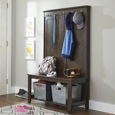 Entryway Coat Rack And Bench Entryway Bench Coat Rack eBay 80