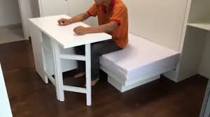 HWB Hidden Table. ARC @TAMPINES EC.Rm3+ Multi-Purpose Bench/Sofa/CoffeeTable/Kid's  Dining &PlayTable - YouTube