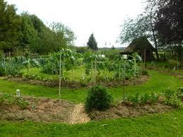 Kitchen Garden Farm La Grande Maison A Permaculture Potager In Le Perche Jardins A
