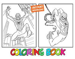 A great way to introduce art and encourage creativity. Superman Coloring Book Etsy